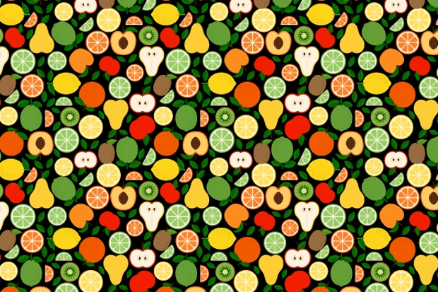 9 Cute Patterns with Fruits