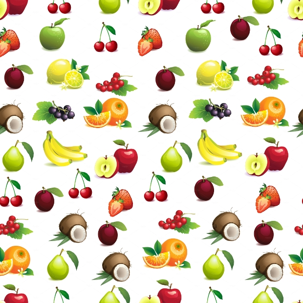 Beautiful Sweet Fruit Patterns