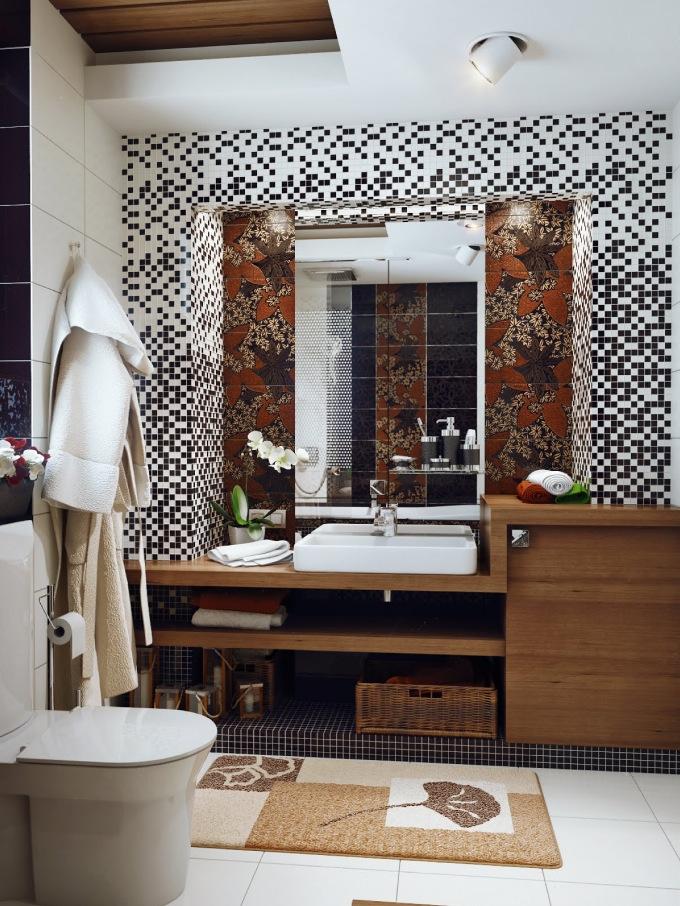 Brilliant Vanitytop Tiles Backsplash Ideas