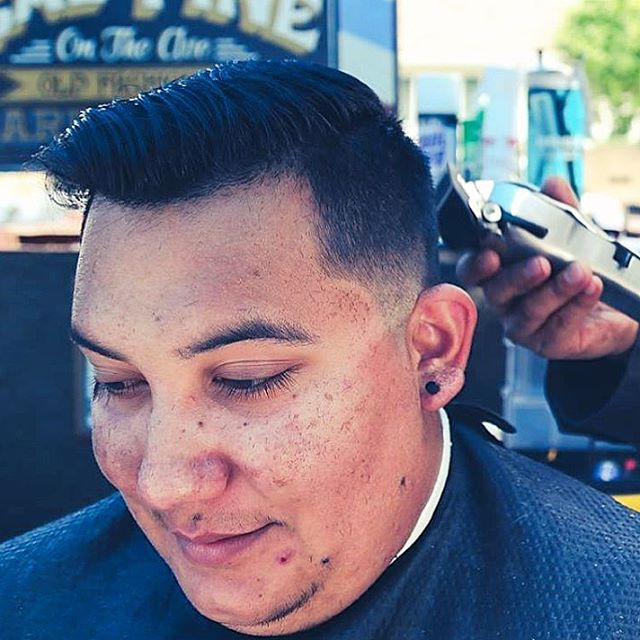 attractive classy taper hairstyle