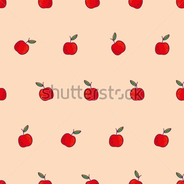 Colorful Vector Fruit Design Pattern