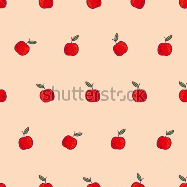 colorful vector fruit design pattern