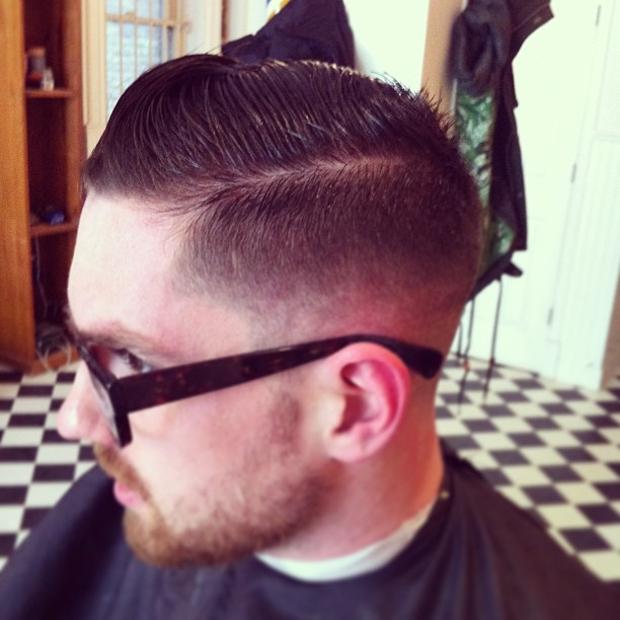 unique style classic taper hair