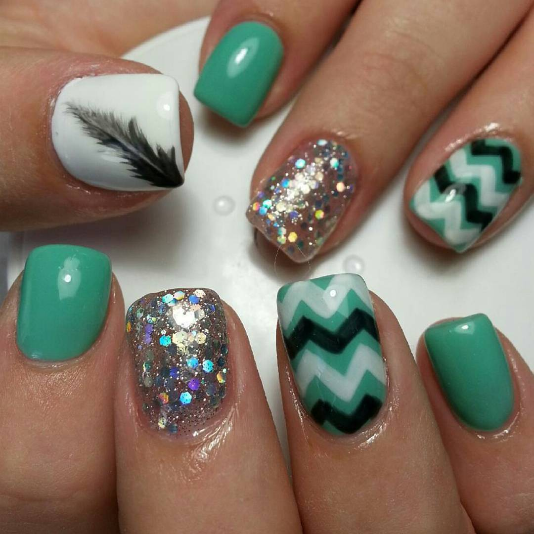 Attractive Nail Design Idea