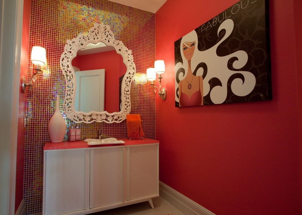 Attractive Vanitytop Wall Designs