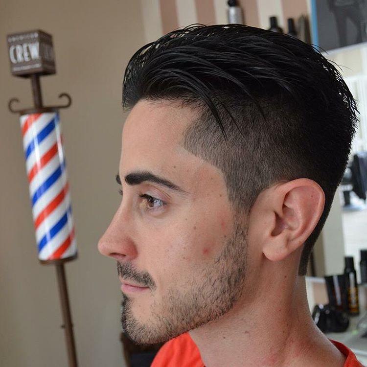creative and seasonal haircut for men
