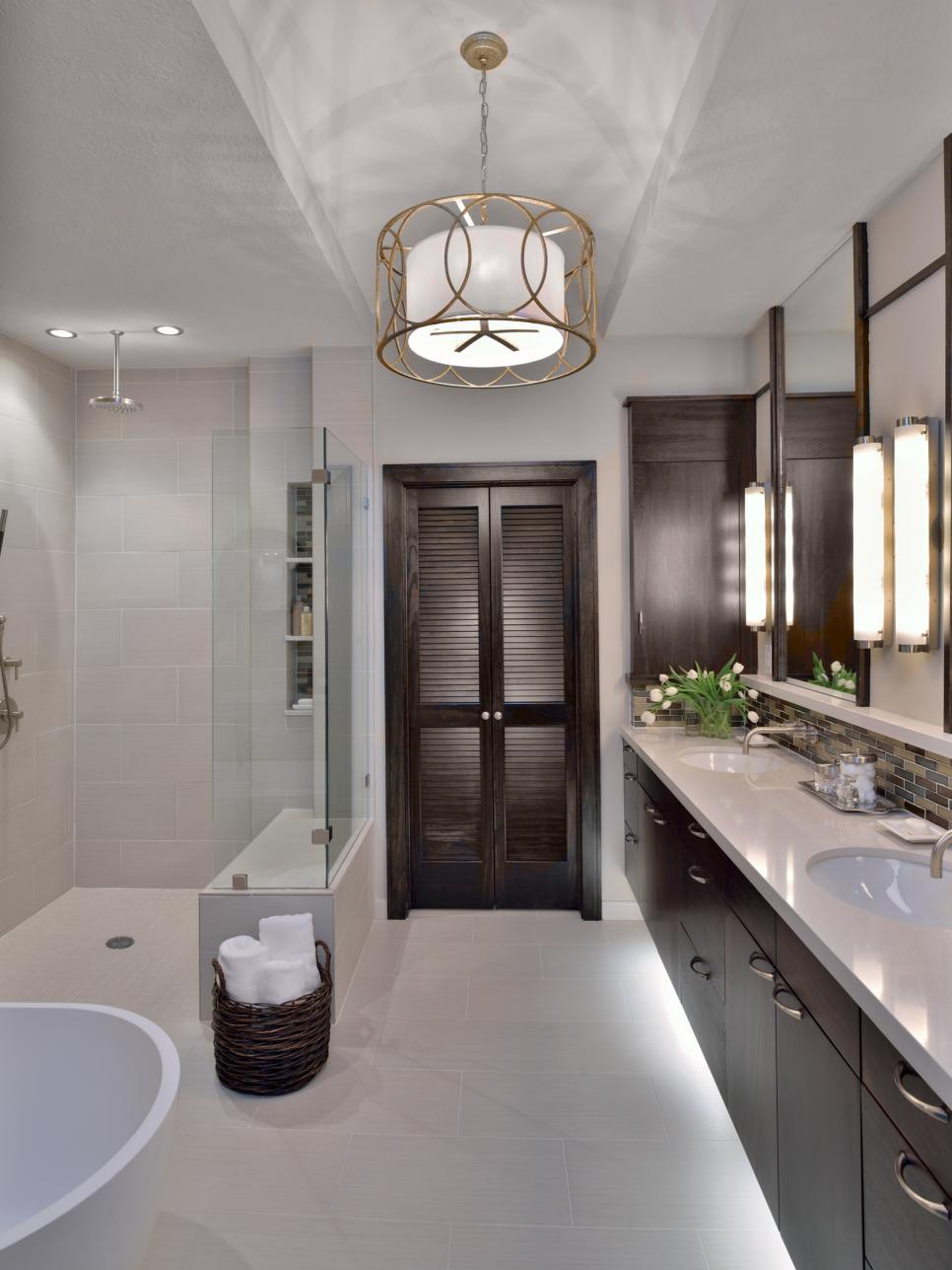 25 cool bathrooms ideas designs design trends for Modern master bathroom