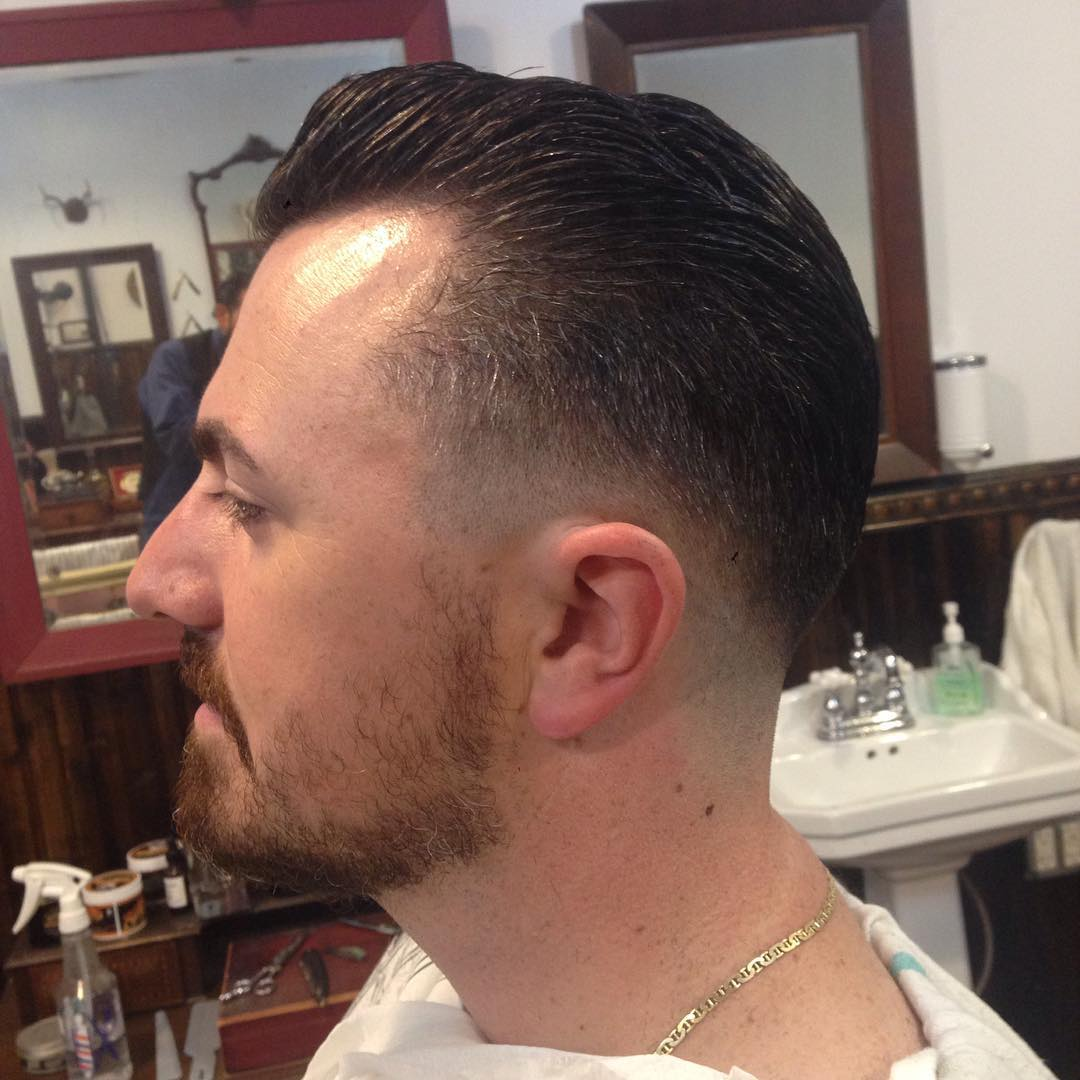 fading unique hairstyle for men
