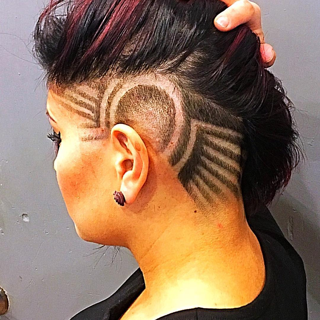 22 Female Taper Haircut Ideas Designs Hairstyles