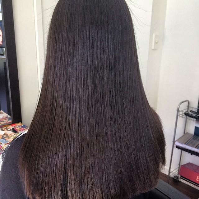 Sleek & Straight hair