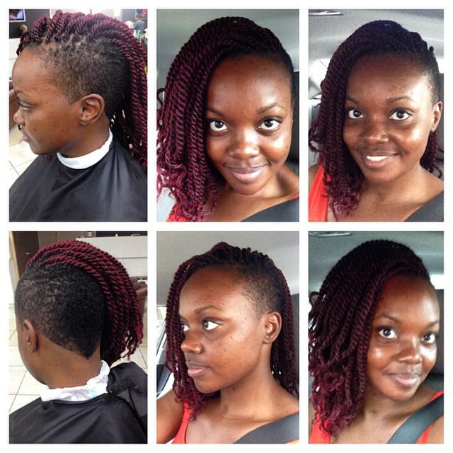 Twist Arfo Hair Design