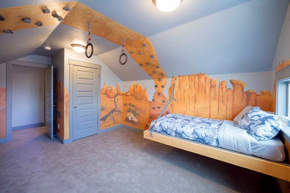 23 Eclectic Kids Room Interior Designs Decorating Ideas: kids room wall painting design