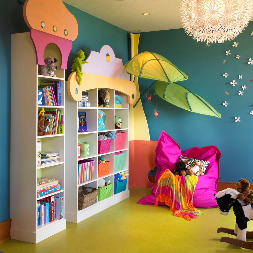 23+ Eclectic Kids Room Interior Designs, Decorating Ideas | Design ...