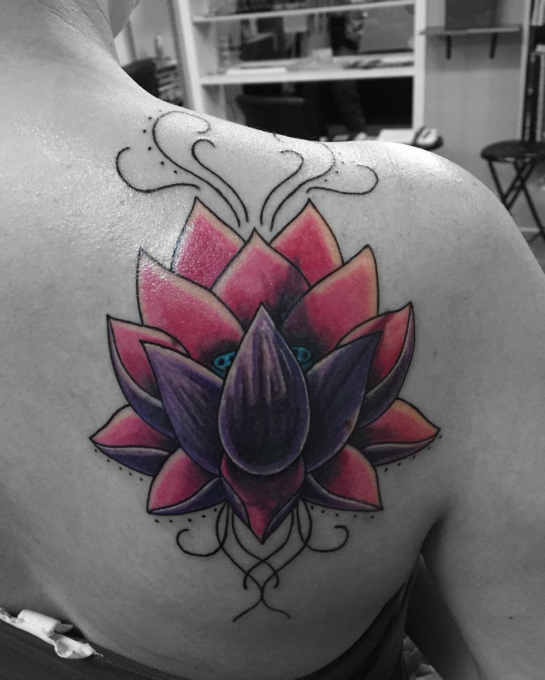Cool Flower Tattoos: 26+ Lotus Flower Tattoo Designs, Ideas