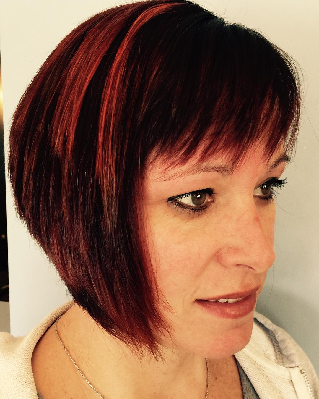 Rock out Red Haircut for Women