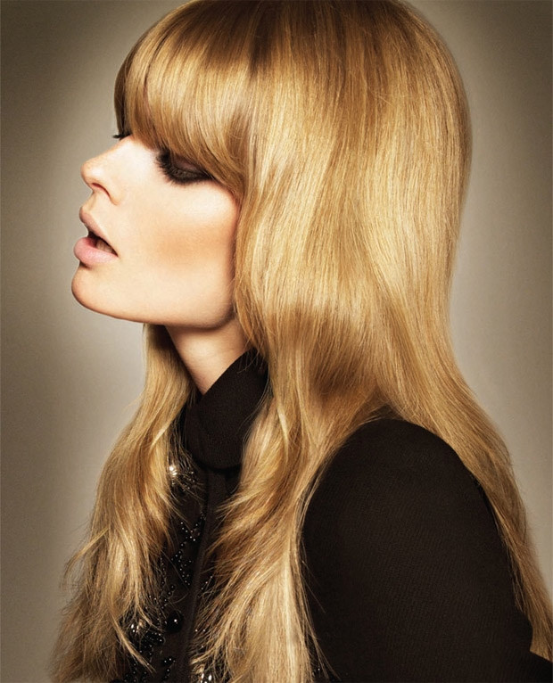 Shining Golden Blonde Hair Color