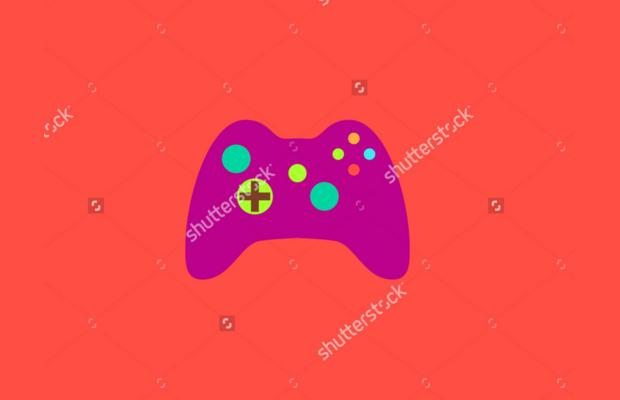 Modern Game Controller Logo Design