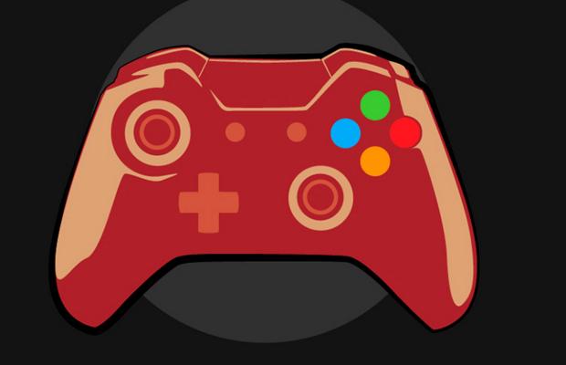 Custom Game Remote Logo Design