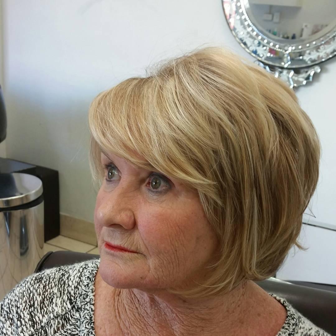 Bob Haircut for Old Women