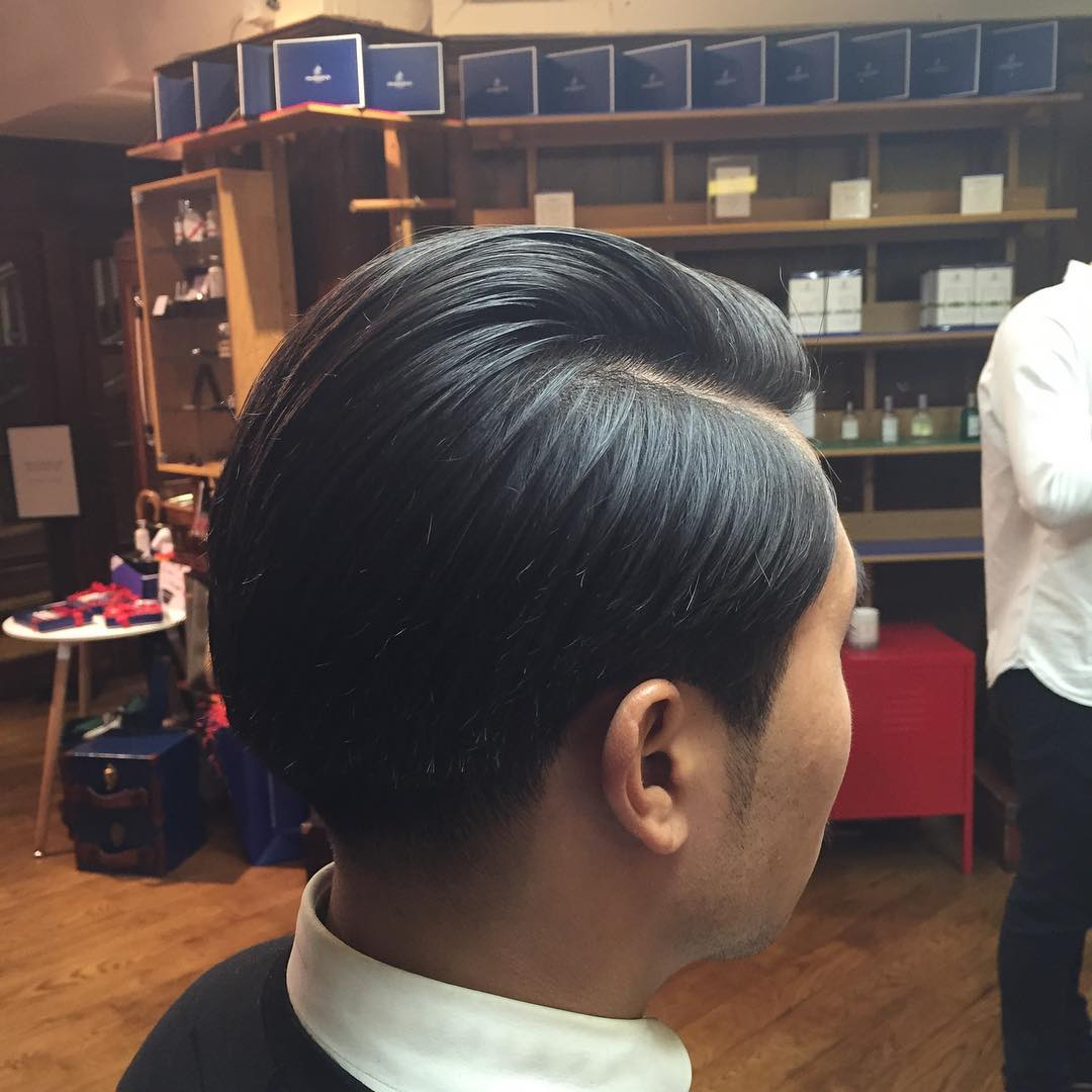 Side Part Taper Haircut