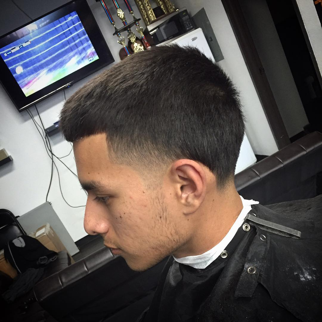 Mohawk Taper Fade Hair