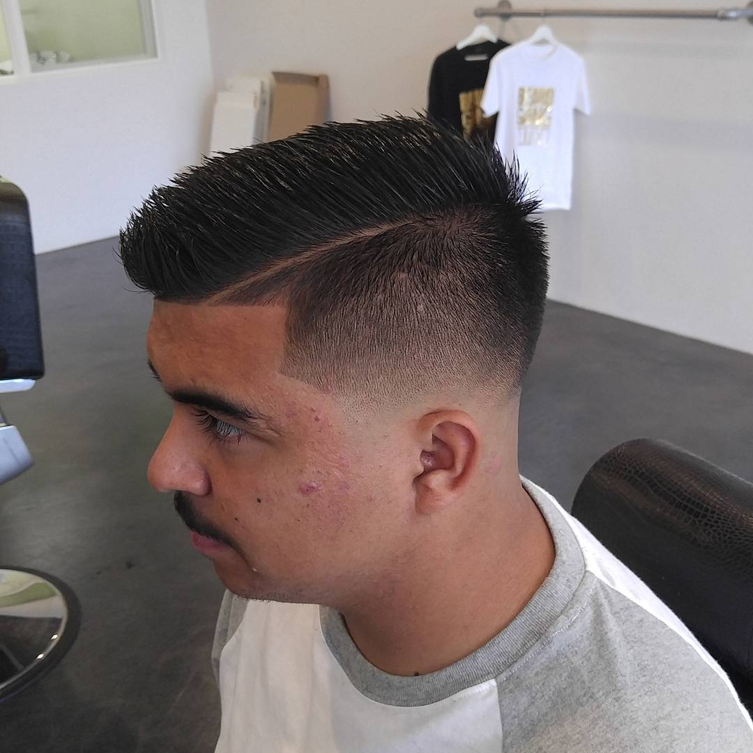 natural taper style