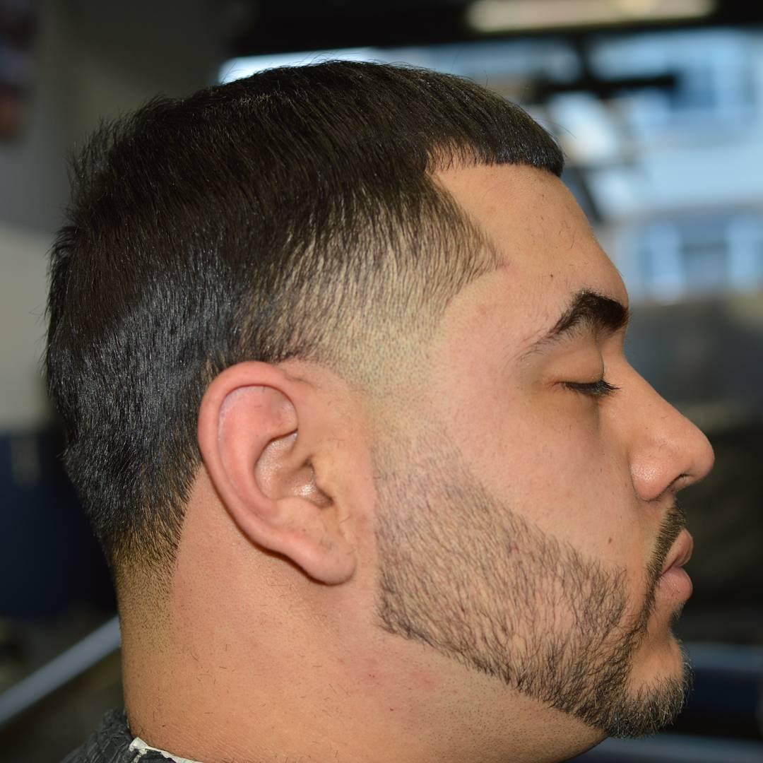 Short Bald Taper Hair