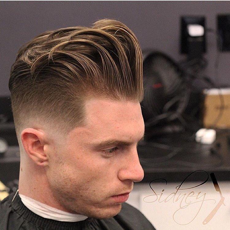 fashion look taper hair