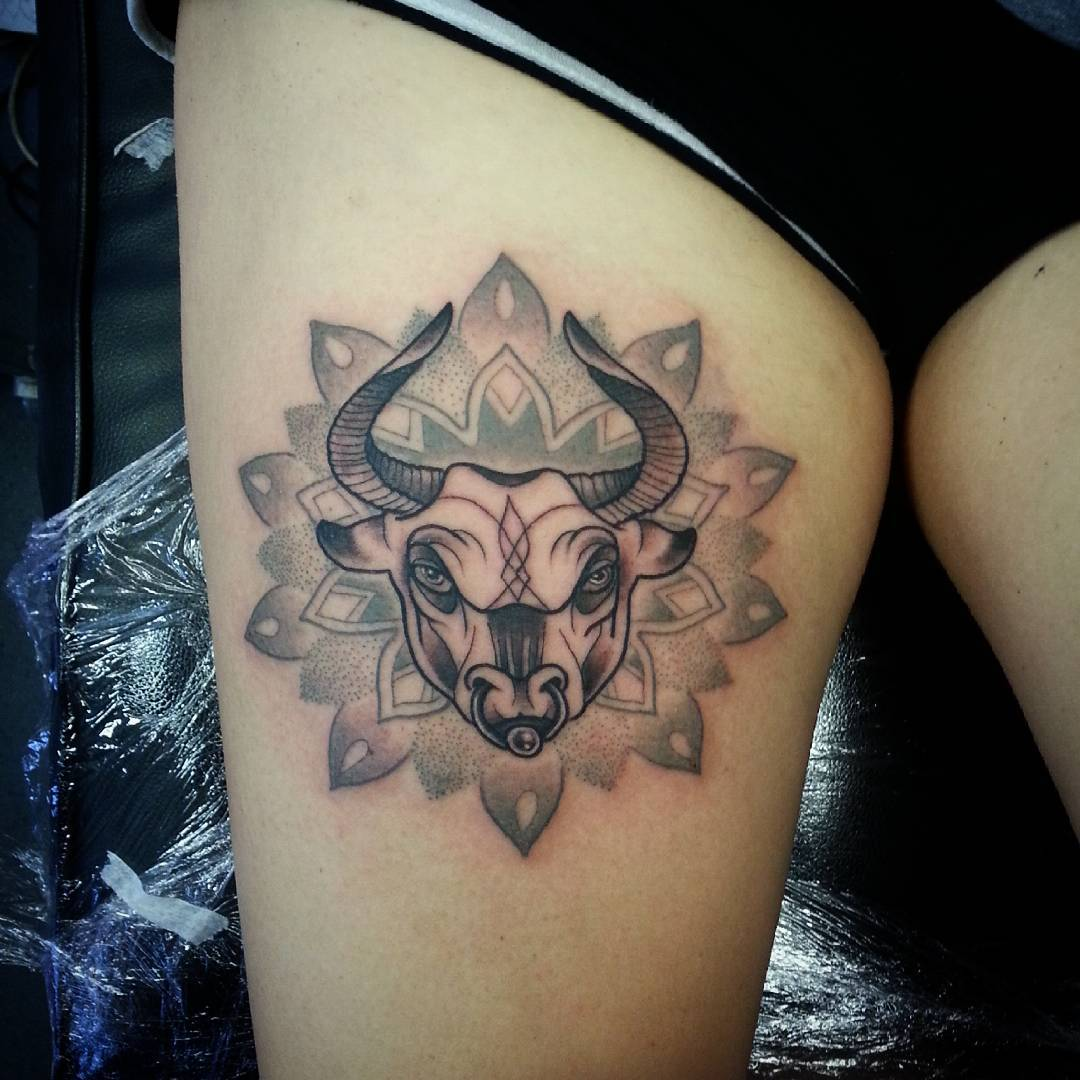 25+ Taurus Tattoo Designs , Ideas | Design Trends ...