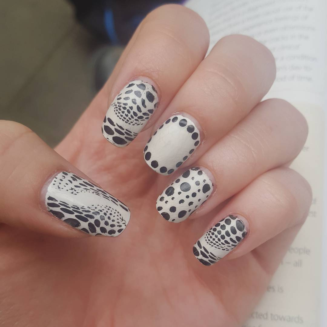 Beautiful Nail Art Design For White Skin