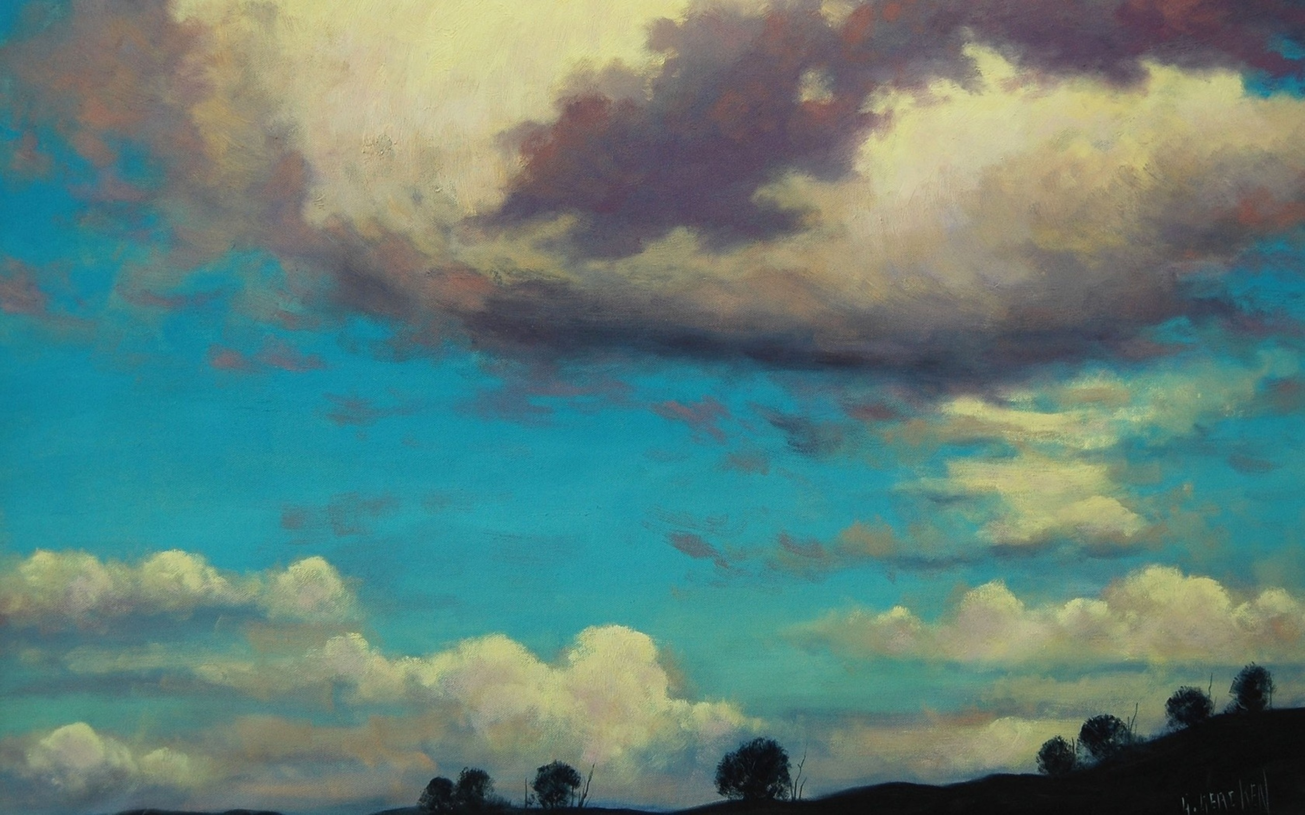 Sky Art Wallpaper