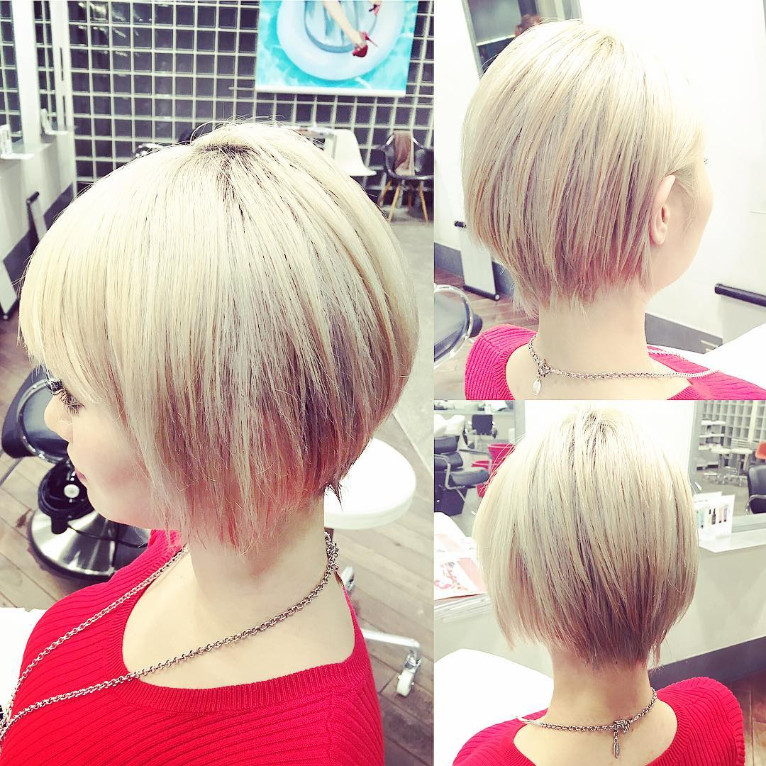 short Bob With Fringe Hairstyle