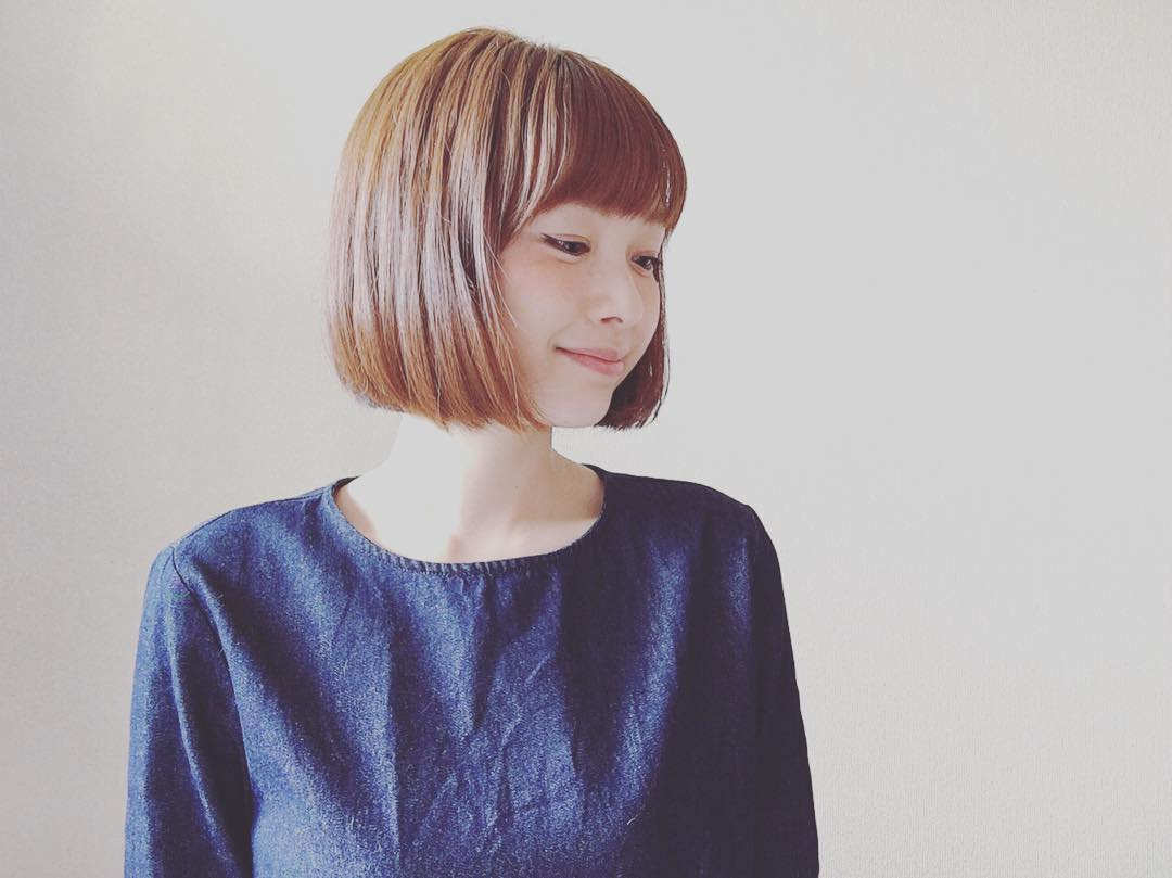 Chin Length Bob Haircut Design.