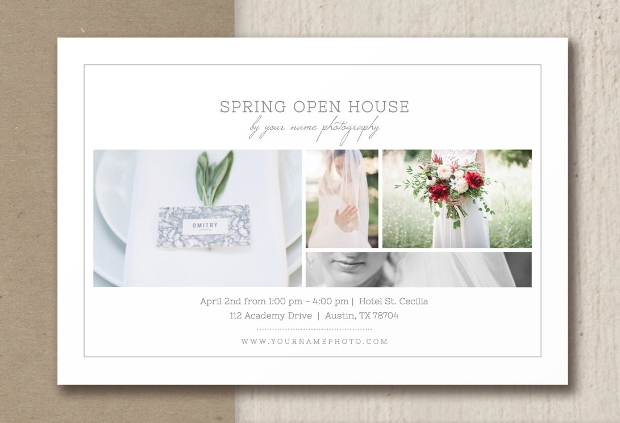 Spring Open House Flyer