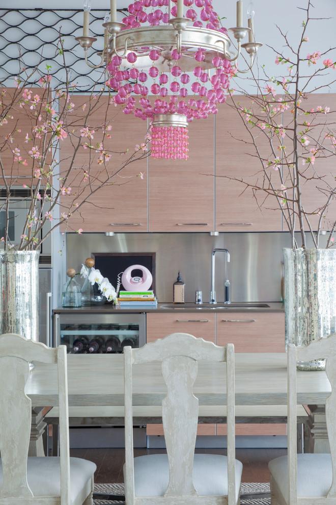 Sassy Kitchen Pink Beads Chandlier Model