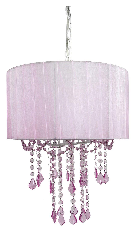 Pink child chandelier chandelier designs 24 pink chandelier light designs decorating ideas design trends arubaitofo Images