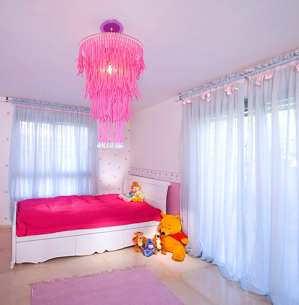 fancy kids room chandelier ideas