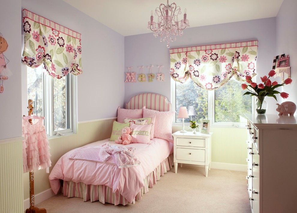 kids bedroom pink chandelier designs