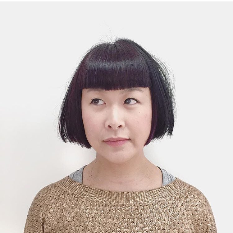 Short Chinese Bob Hairstyle.