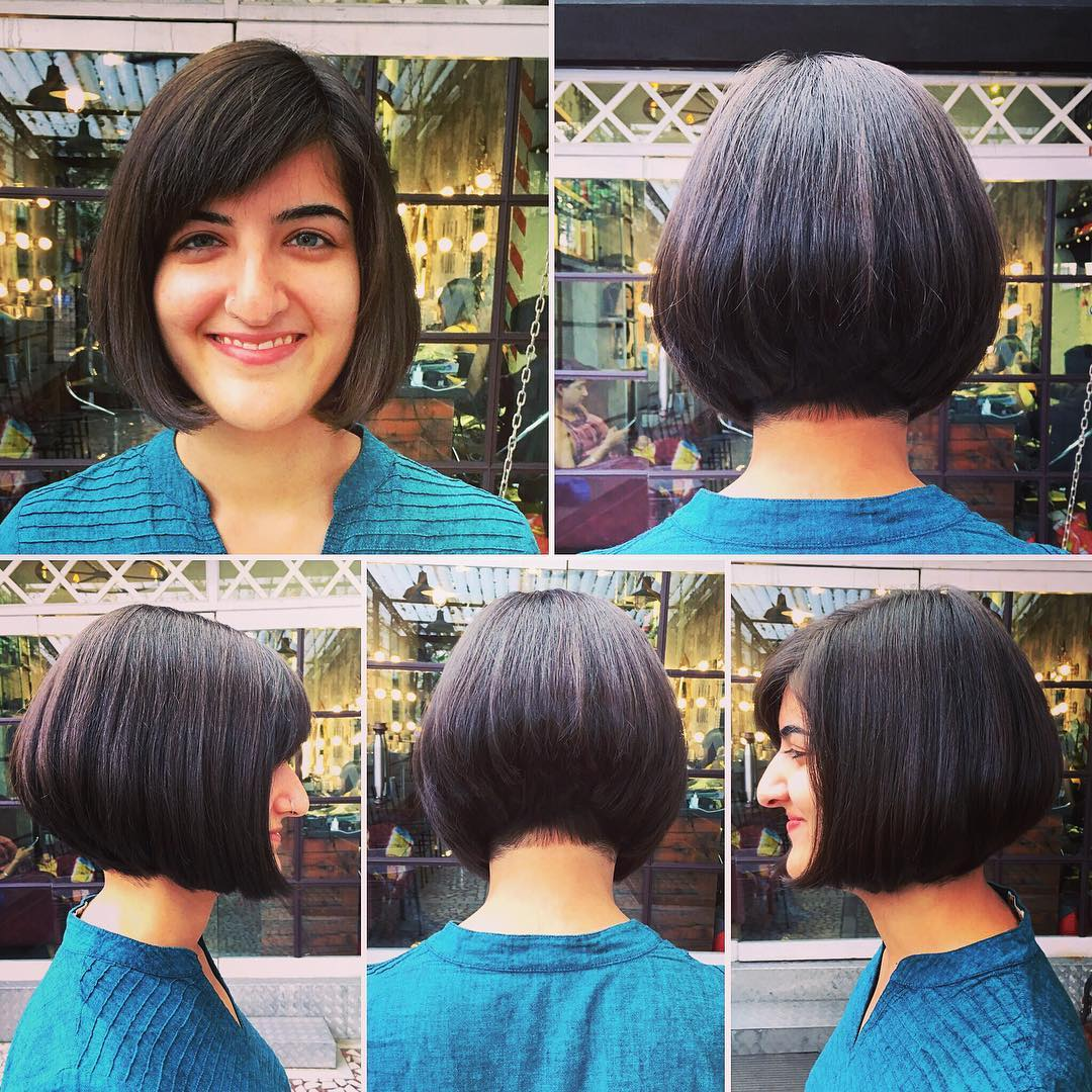 Cute Bob Haircut For Girls
