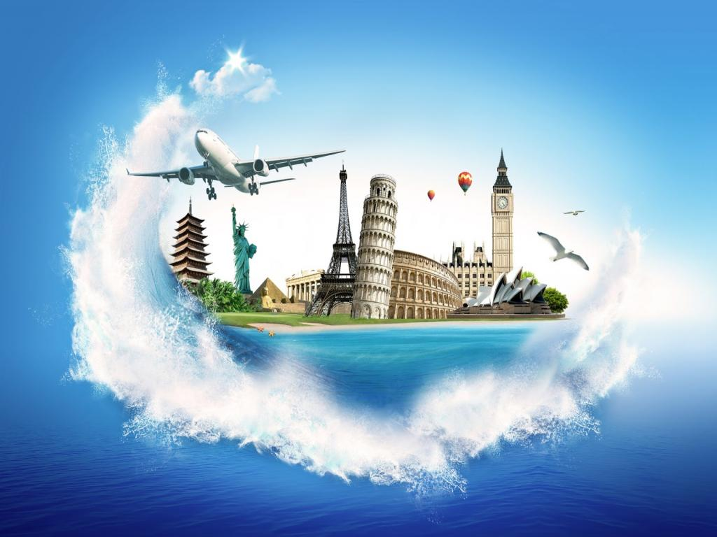 animated travel wallpaper