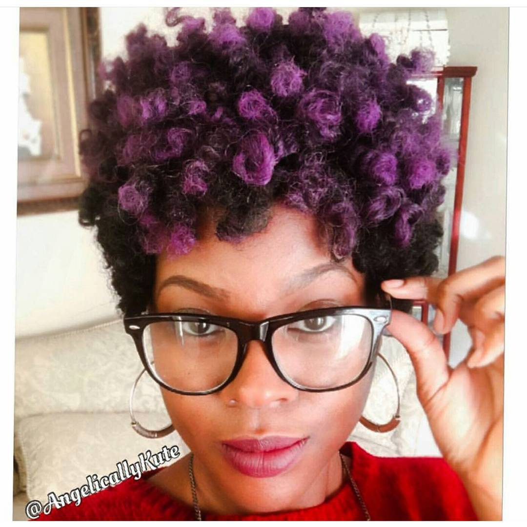 Short Tapered Curly Hair