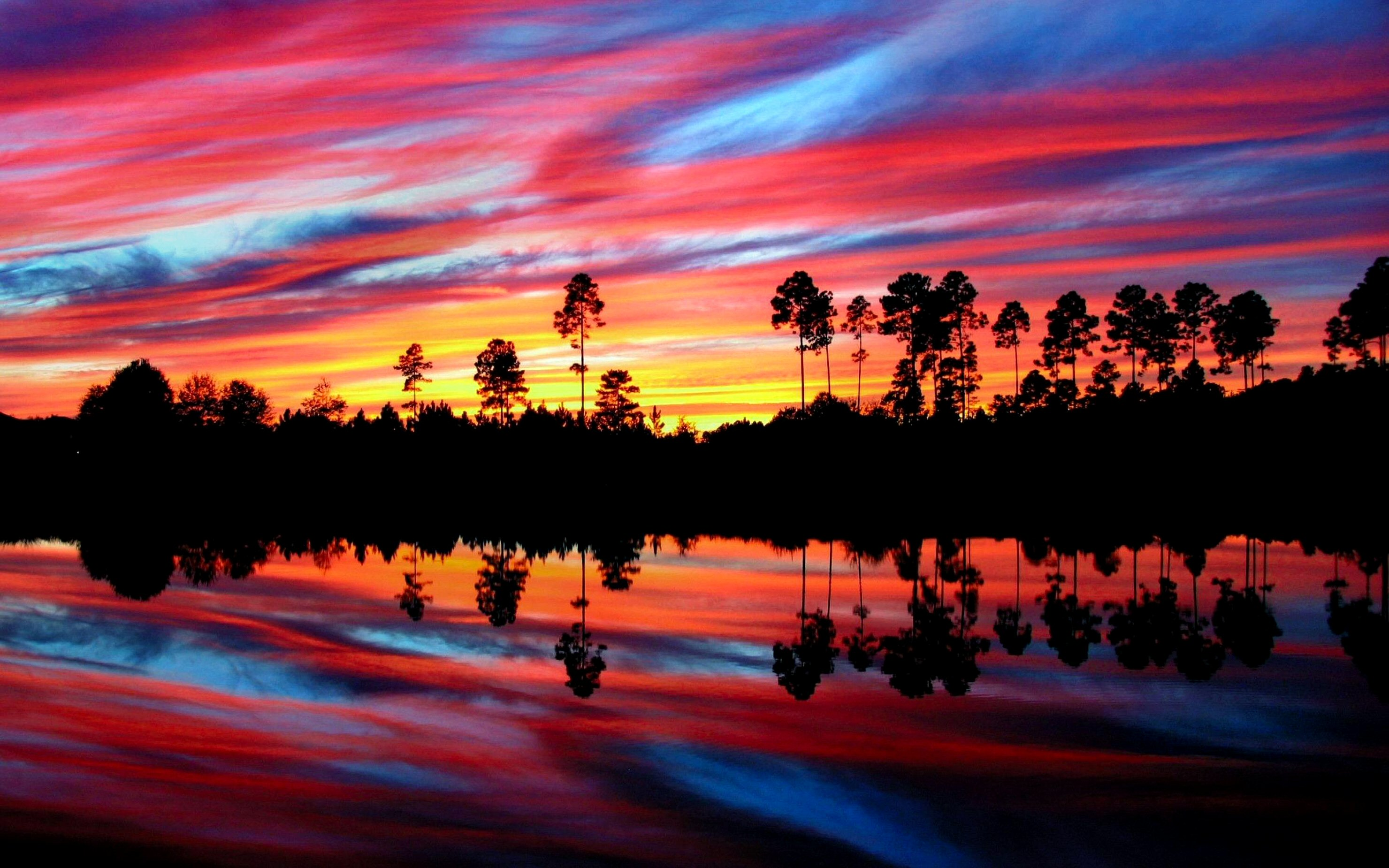 sunset reflection wallpaper1