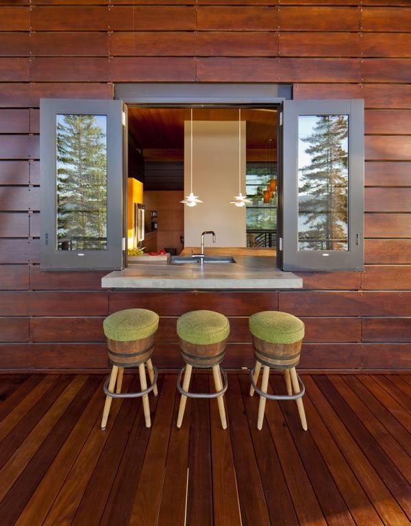 Outdoor Wooden Deck Designs