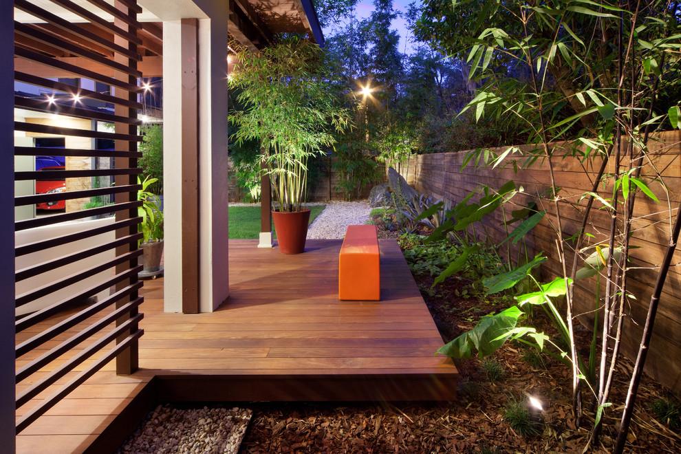 Outdoor Hardwood Deck Ideas