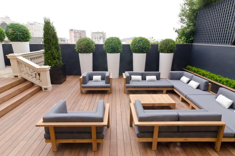 exterior deck furniture designs