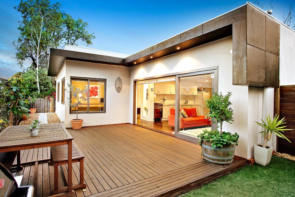 Amazing Outdoor Deck Model