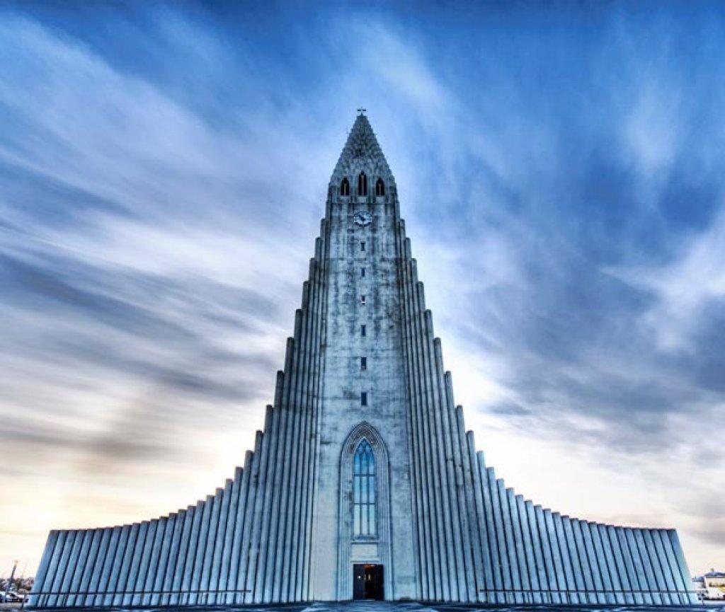 The Church of Hallgrímur (Reykjavík, Iceland)