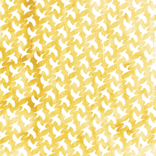 Watercolor Gold Texture Pattern
