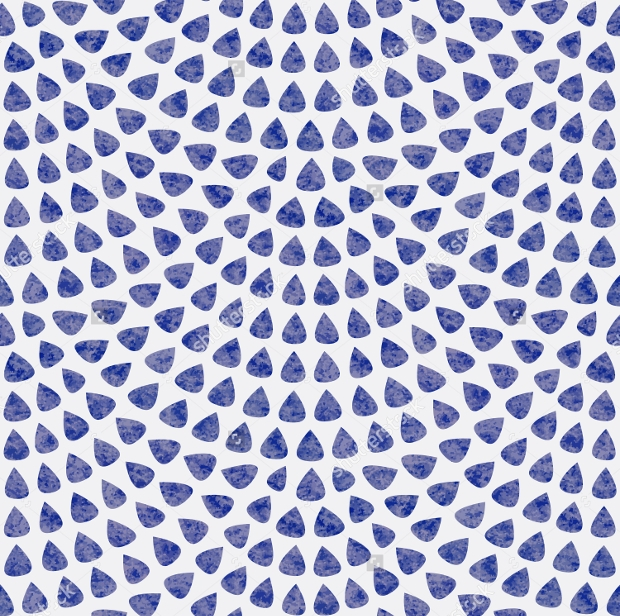 Fish Scale Design Watercolor Seamless Pattern